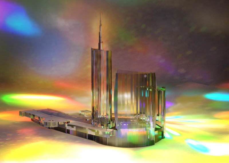 The Glass Builders #2. Sparkling like pyramids