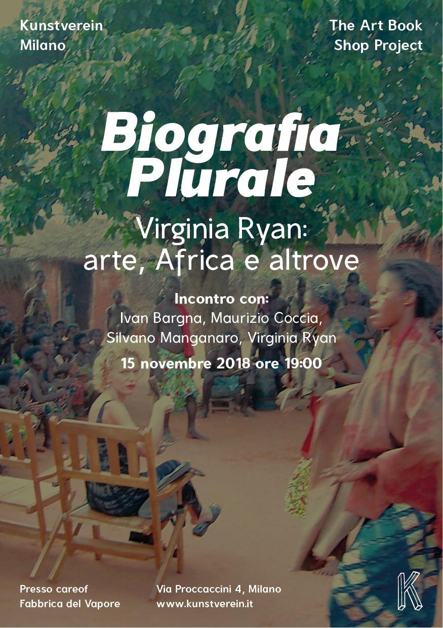 Biografia plurale. Virginia Ryan: arte, Africa e altrove